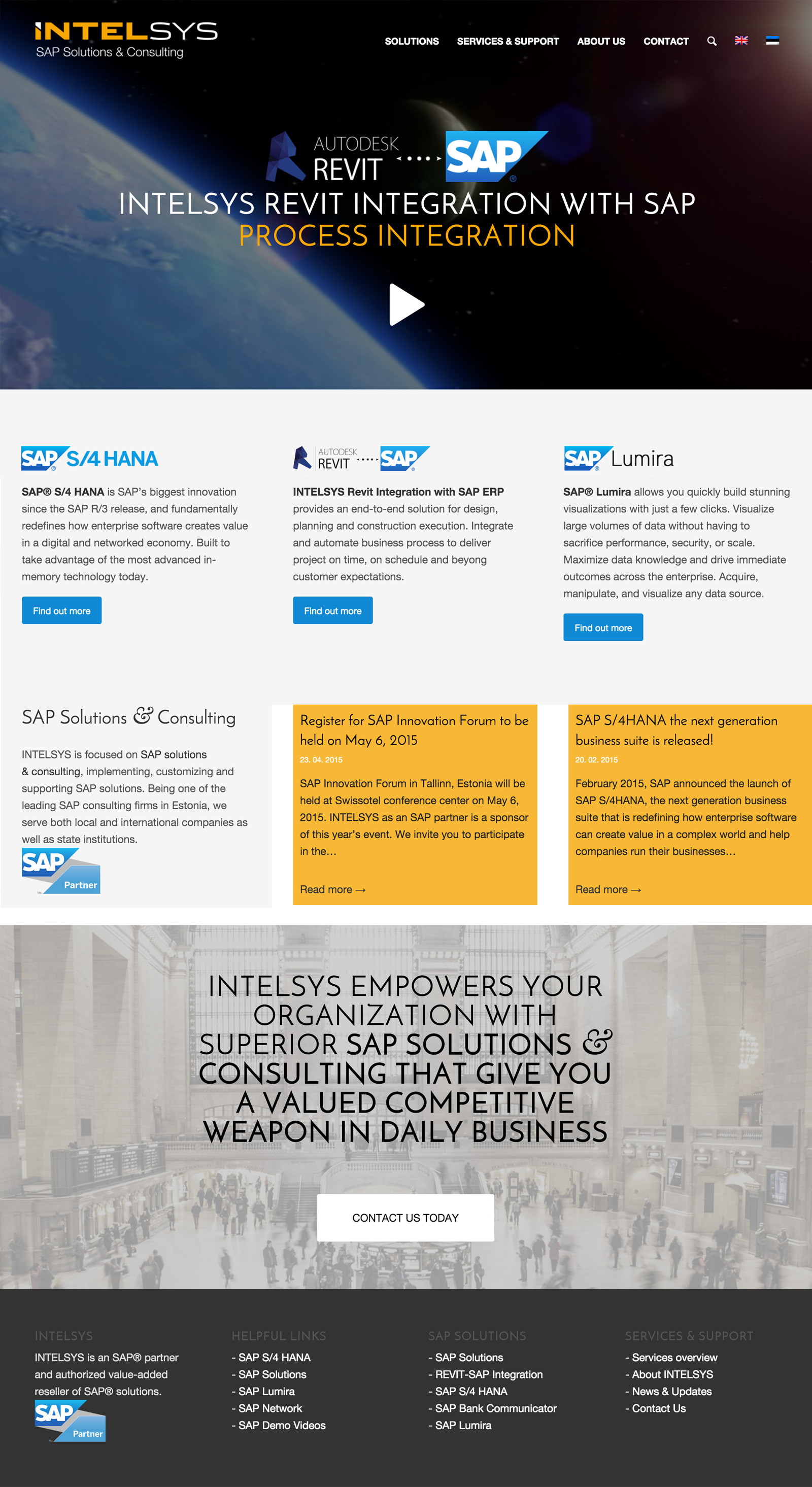 INTELSYS - Sap Solutions and Development